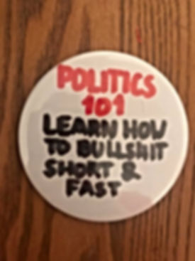 Politics 101 Badge