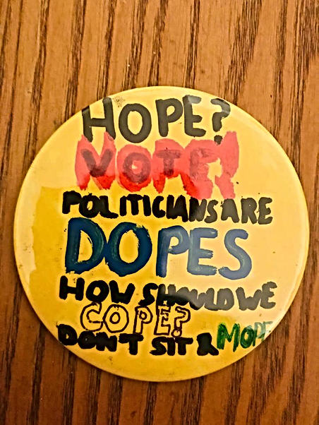 HOPE? NOPE! VOTE!!