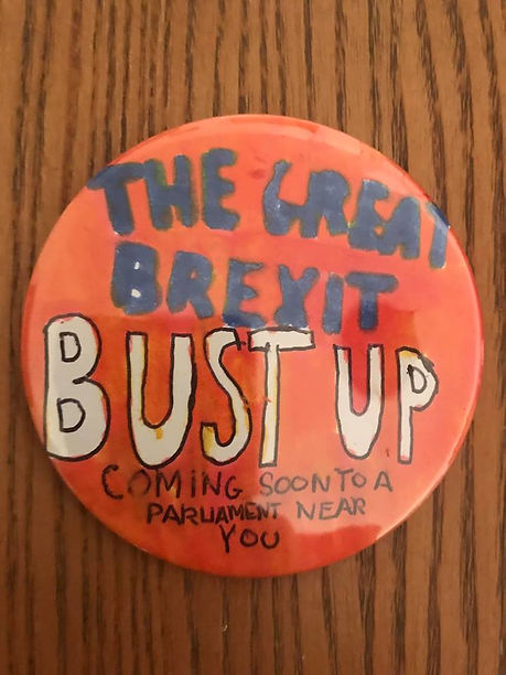 Great Brexit Bust Up Badge