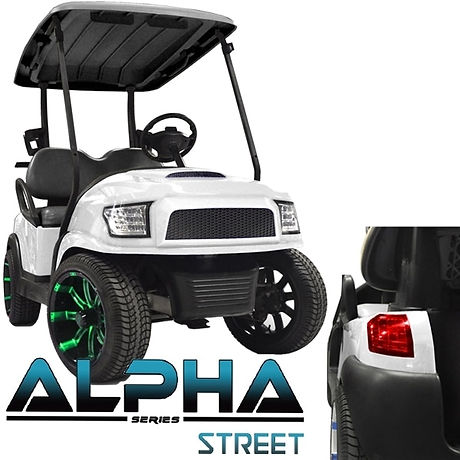 Alpha golf cart body kit