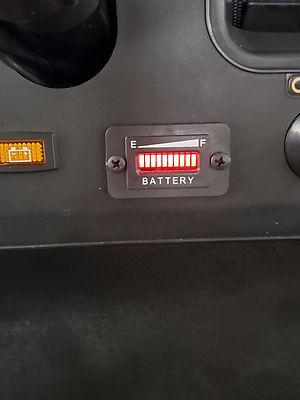 golf cart voltage meter