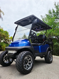 2016 Club Car Precedent Metallic Blue