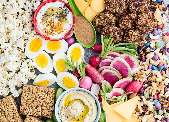 40 Plus Healthy Snacks approved by Meg