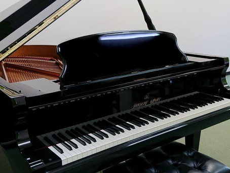 シゲルカワイのグランドピアノのモニターをさせていただくことになりました