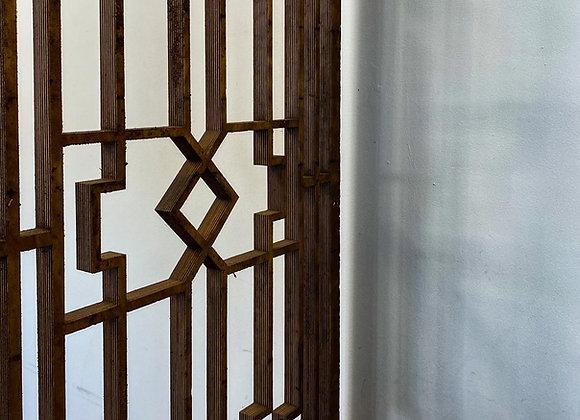 Art Deco Waterjet Panel