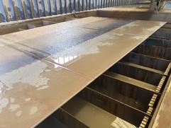 Marble sheet cutting