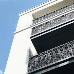 Waterjet balustrades crafted for _chelse