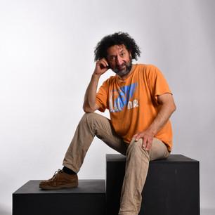 Robinson Barría, escultor
