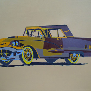 "Eduardo Rosas: ""Ford Thunderbird Hardtop Coupe 1960"""
