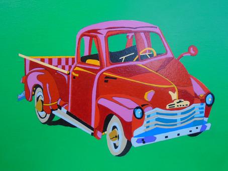 "Eduardo Rosas: ""Chevrolet Pickup 1950"""