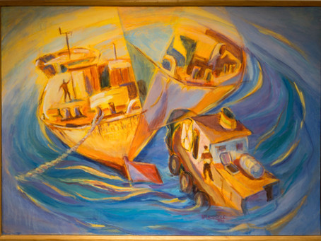 """Ernesto Mancilla: """"ARTEFACTO NAVAL"""""""