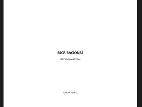 """Libro de poesía """"Escribaciones"""": Óscar Petrel"""