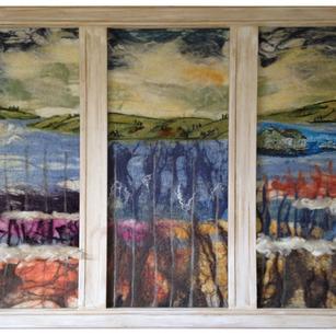 "Banja Barría: ""A través de mi ventana"""