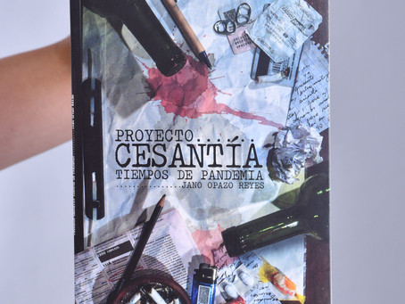 """Libro Poesía """"Proyecto de Cesantía"""": Jano Opazo, escritor"""