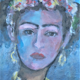"""Rossy Oelckers: """"A Frida Kahlo"""""""