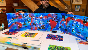 Marcelo Paredes, pintor