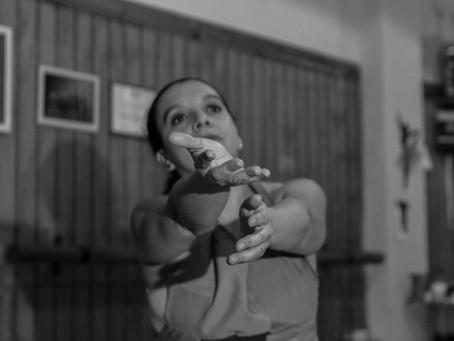 Mónica Bustos, Pedagoga en Danza