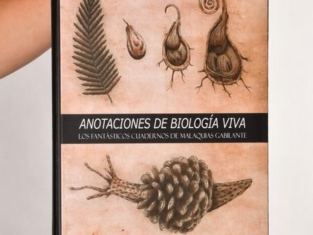 """Libro """"Anotaciones de Biología Viva"""": Claudio Acuña"""