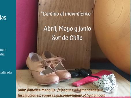 """Proyecto de Danza """"Camino al Movimiento"""": Vanessa Mancilla"""