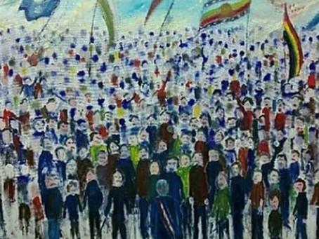 """Gastón Ampuero: """"19 de octubre -estallido social"""""""