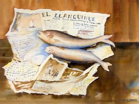 """Gabriel Valerio: """"Pescado fresco"""""""