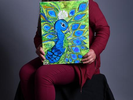 Gloria Mella, pintora