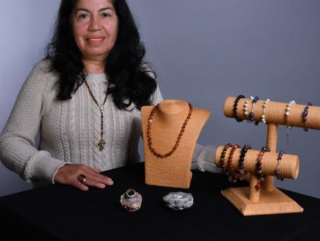 Faustina Rodríguez, artesana
