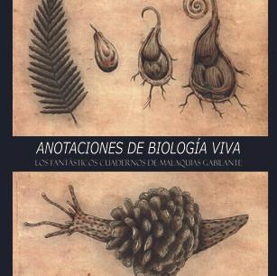 """Claudio Acuña: """"Anotaciones de Biología Viva; los fantásticos cuadernos de Malaquias Gabilante"""""""
