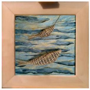 """Banja Barría: """"Texturas y mar"""""""