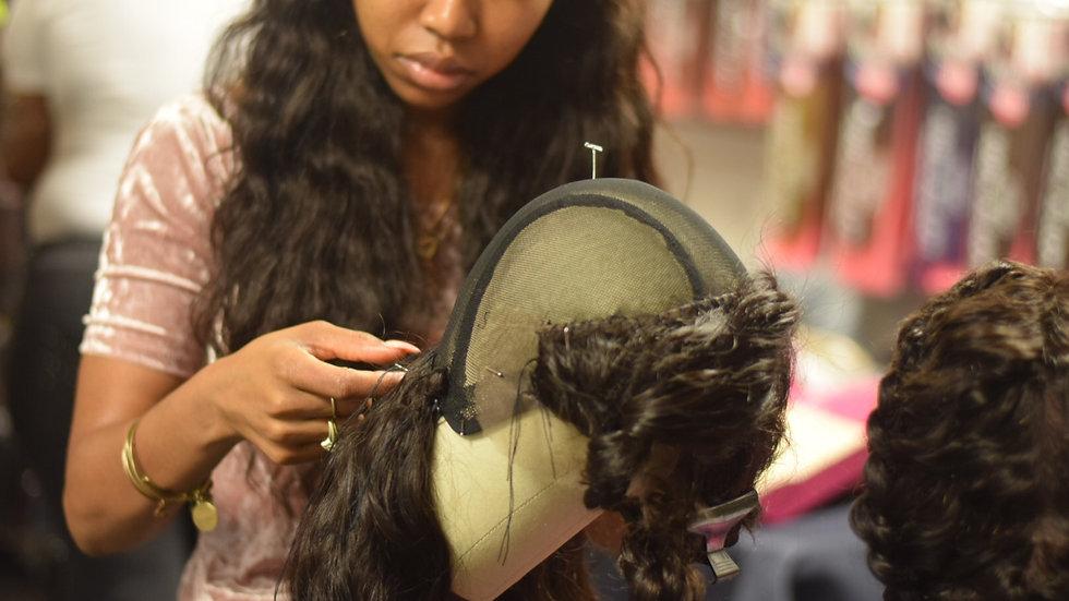 3/1/2021 Wig Making 101: Handsewn Wig Making Method