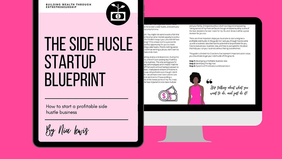 Side Hustle Startup Blueprint eBook