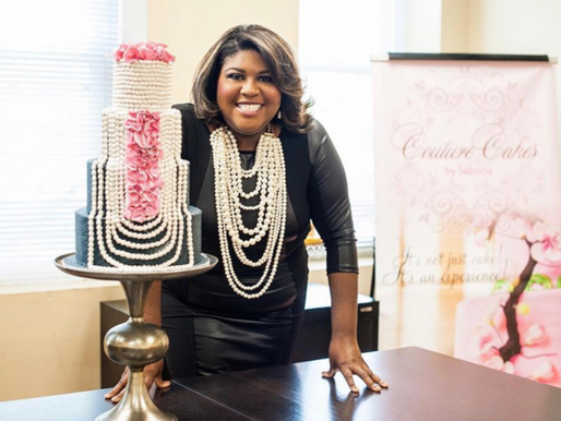 Ep. 59 Celebrity Wedding Cake Designer, Sabrina Hare, Shares Her Secrets to Business Success