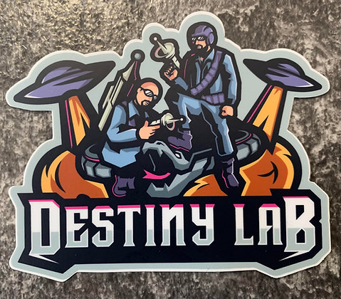 Destiny Lab Sticker