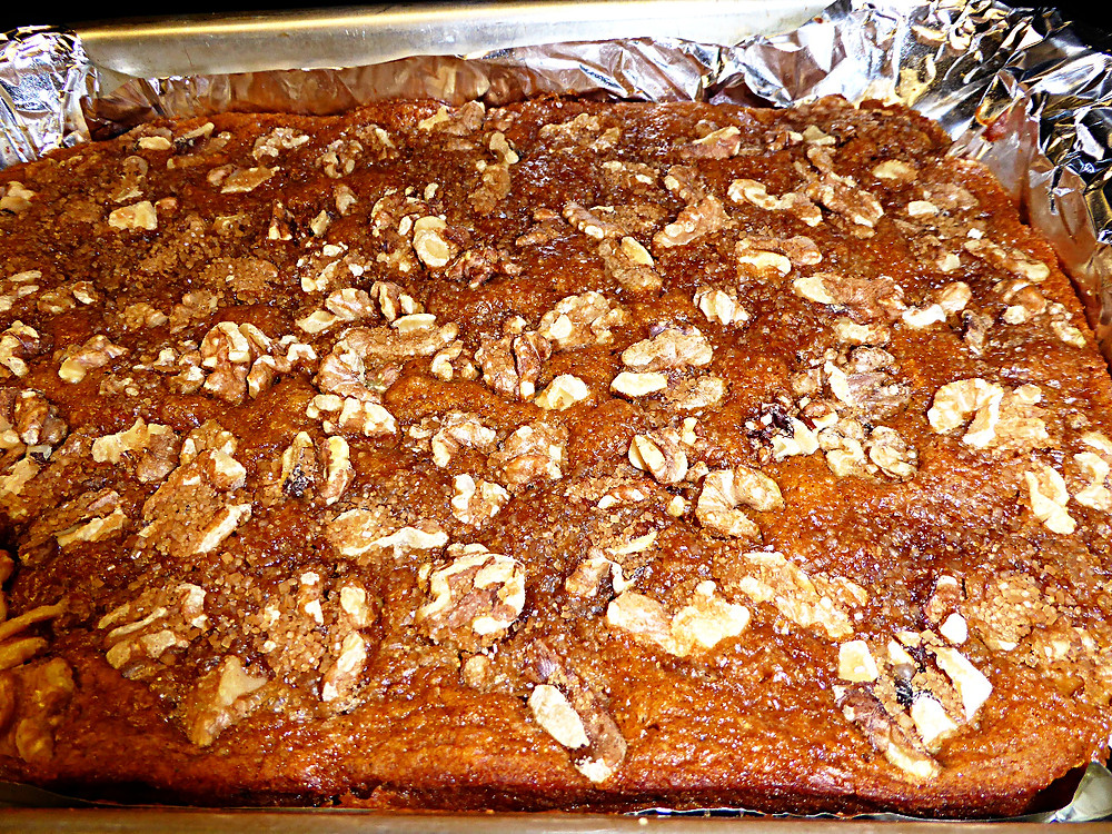 Forget Ultra-Processed Foods: Bake a Persimmon Coffee Cake
