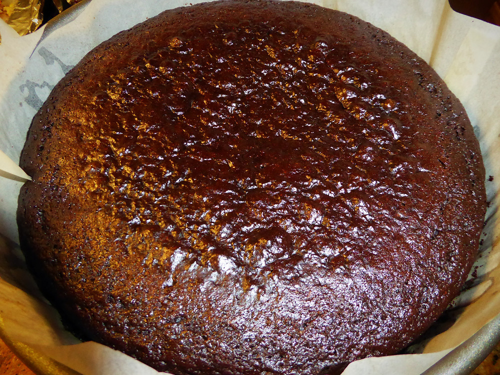 Low-fat Chocolate Stout Cake
