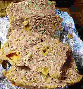 Sourdough Chunky Cheese Bread