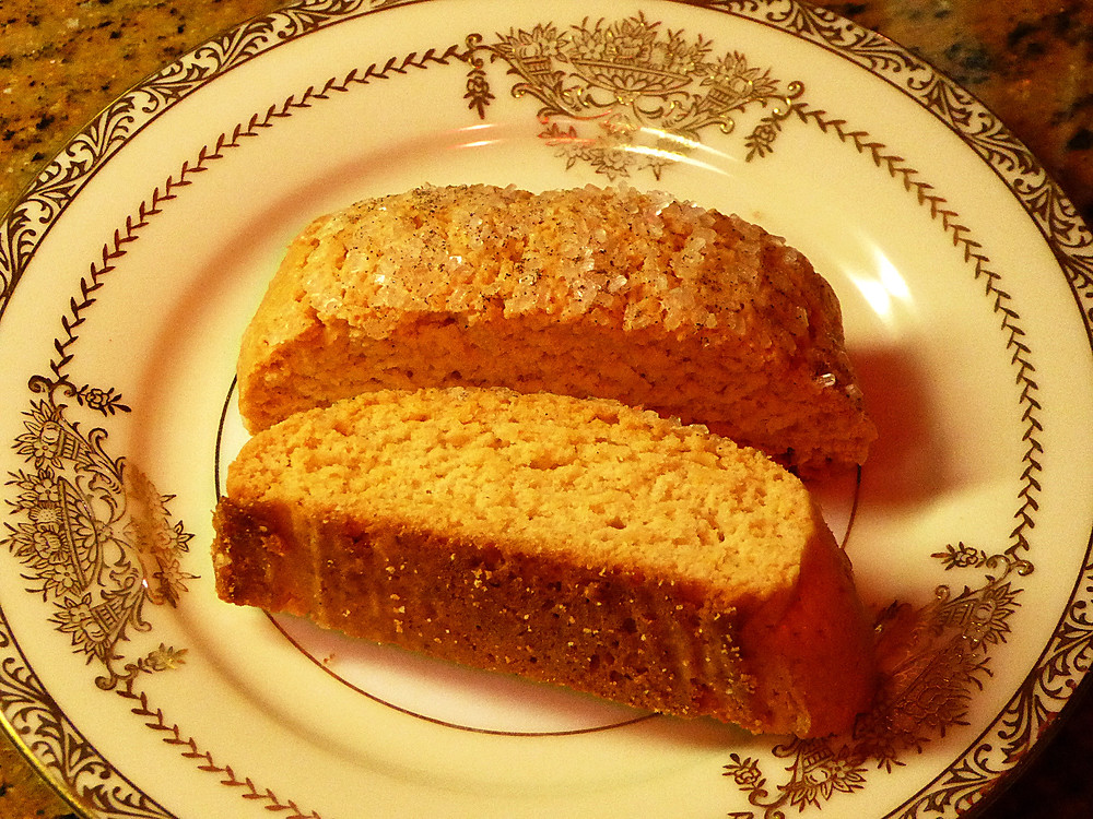 Cheap and Elegant Christmas Cookies:  Vanilla Biscotti