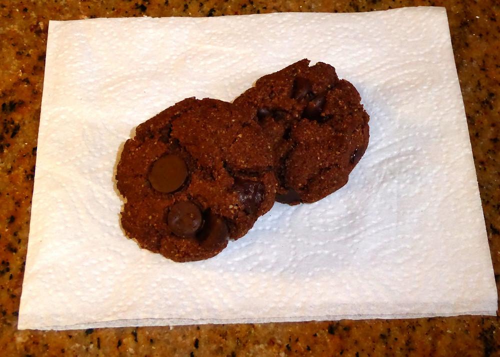 Gluten Free Air Fryer Fudge Cookies