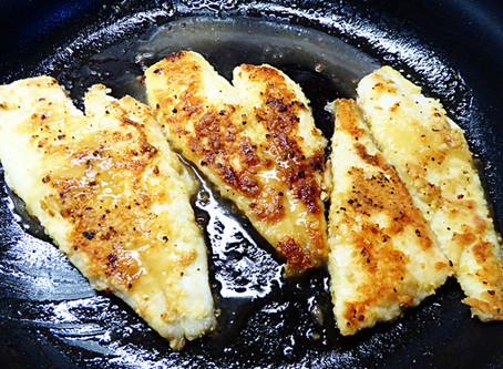 Friday Fish Night:  Flounder in Lemon Butter Sauce
