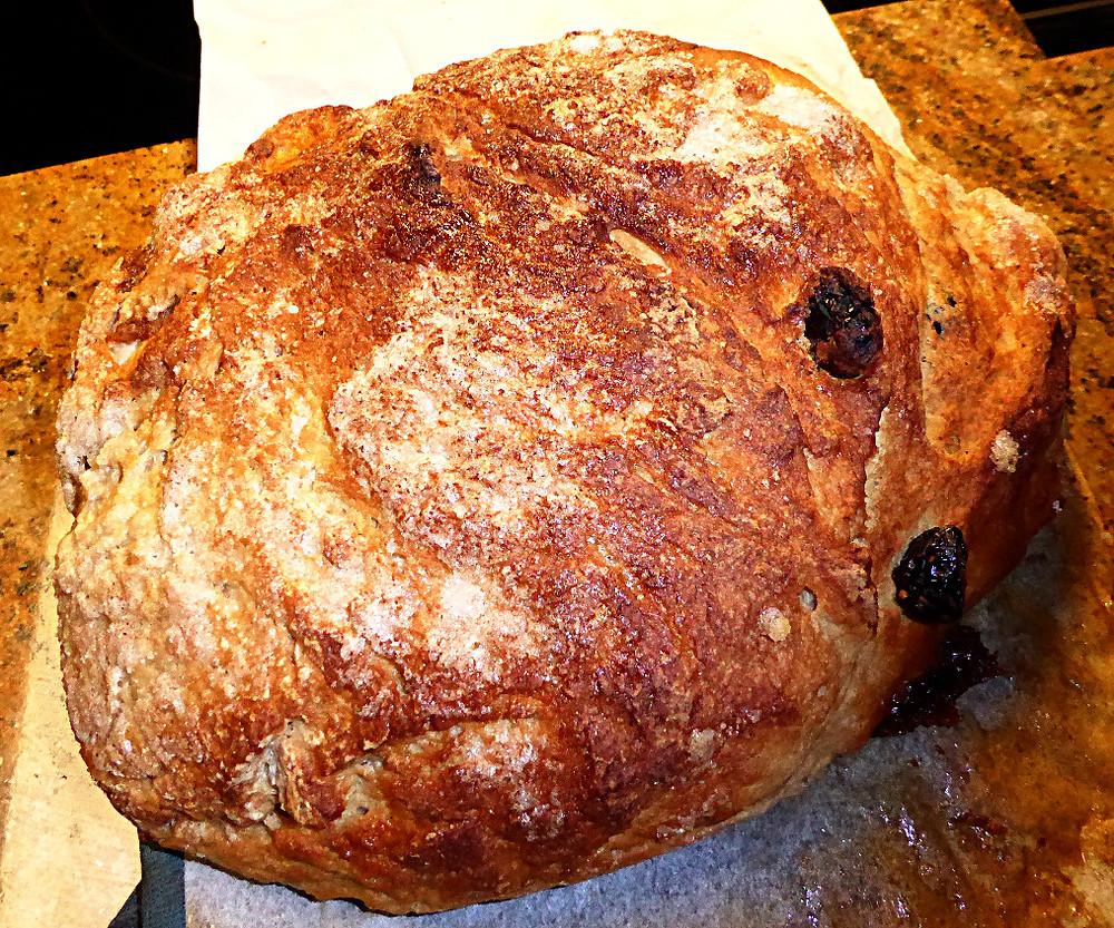 Sourdough Cinnamon Twirl Bread