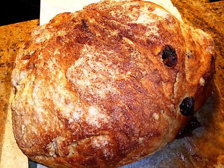 Sourdough Cinnamon Streusel Bread