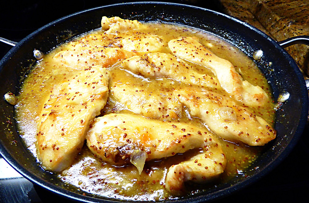 Easy Skillet Apricot-Dijon Chicken Breasts
