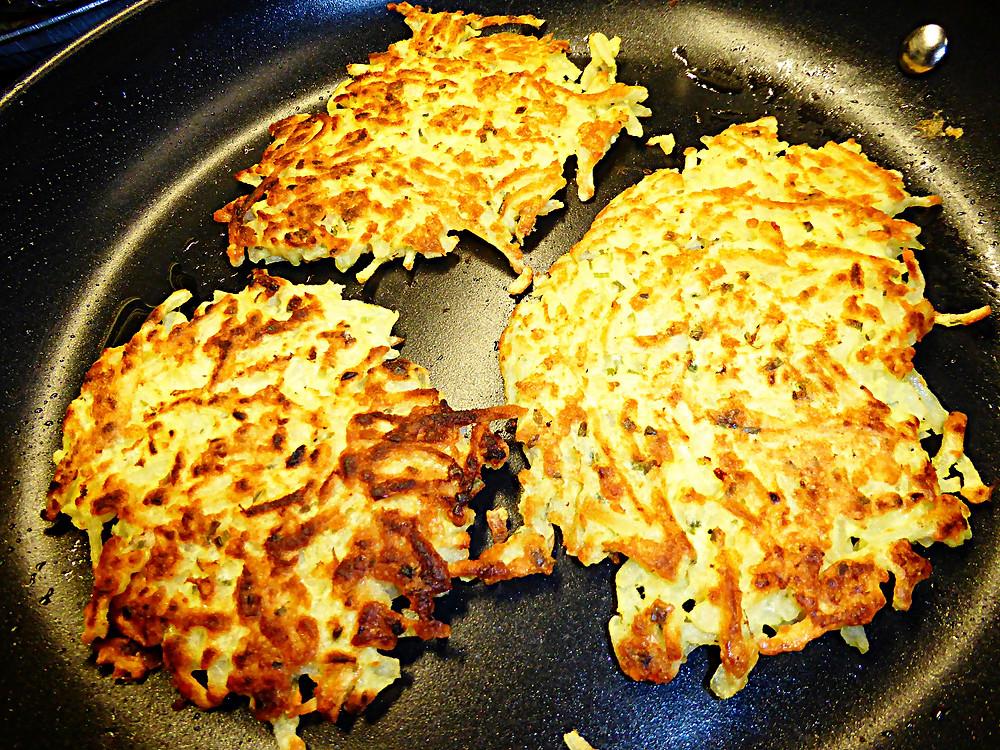 Quick, Easy, and Cheap:  Potato Pancakes