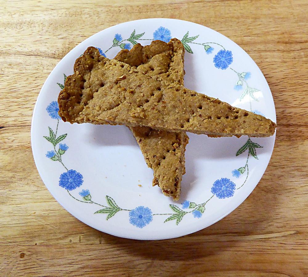 Brown Sugar Hazelnut Shortbread