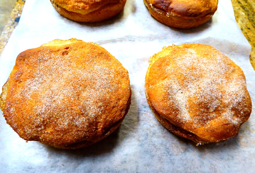 Quick Dessert:  Air Fryer Apple Biscuit Pies