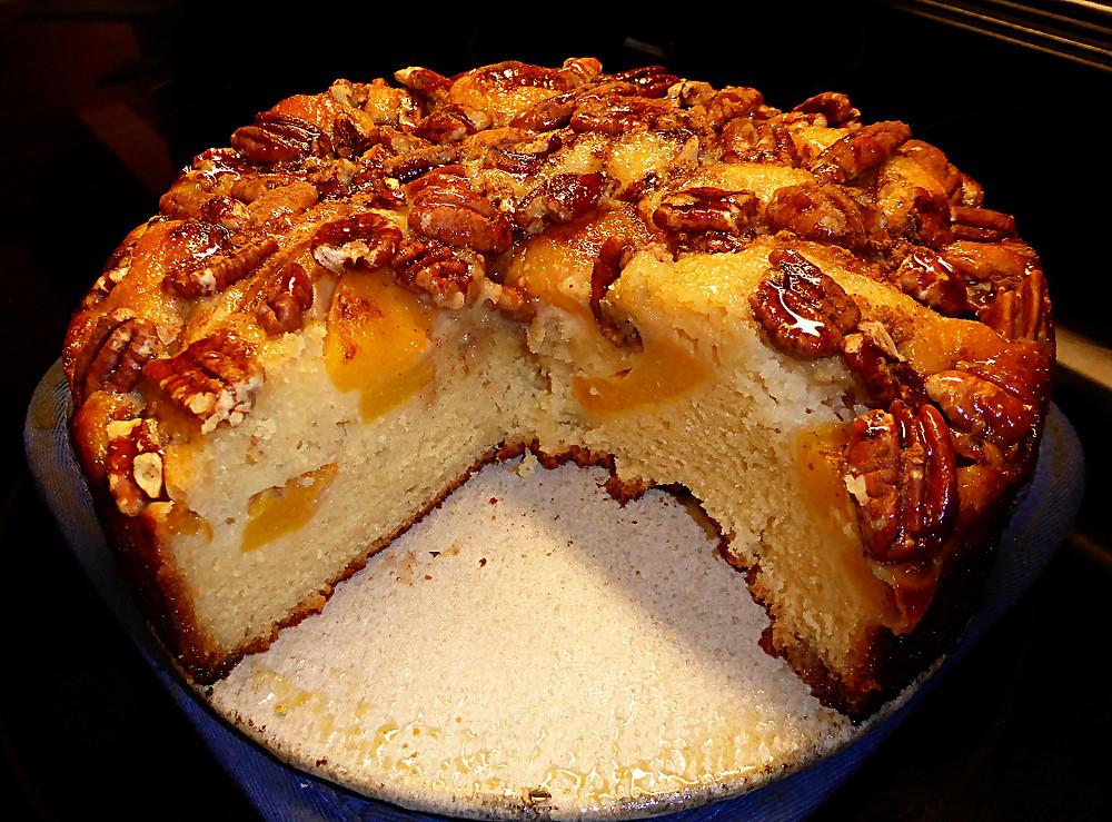 Fall Peach Cake