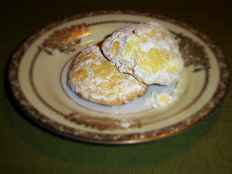 Need Cookies?  Make Orange Rosemary Cornmeal Cookies