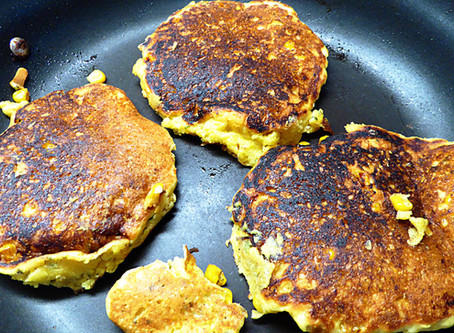 Start With Jiffy Corn Cakes For a Quick Supper