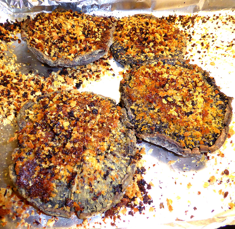 Portobello Mushroom Patties
