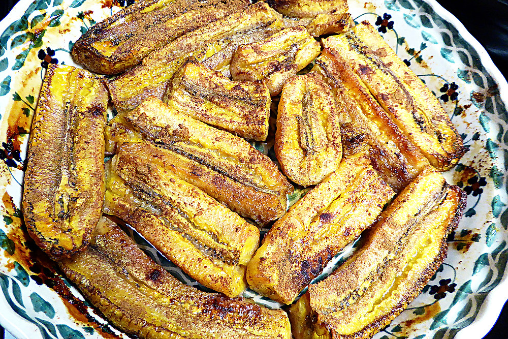 Simple Baked Plantains
